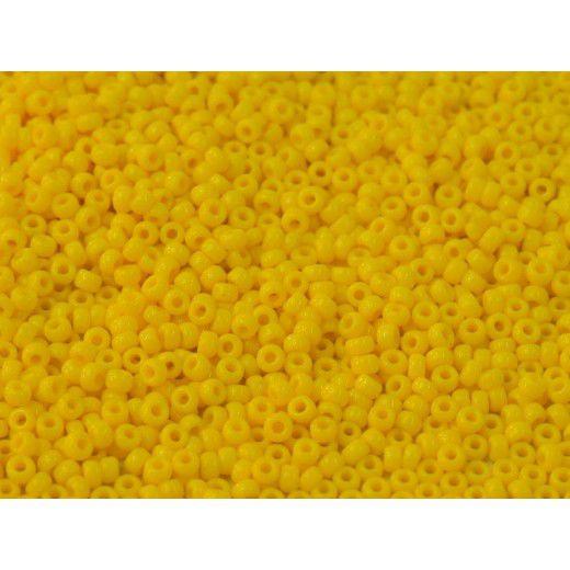 Bulk Bag Transparent Yellow Miyuki 11/0 Seed Beads, 250g, Colour 0404D