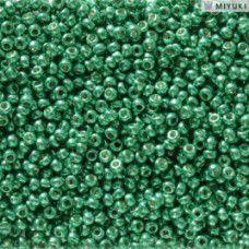 Duracoat Galvanised Dark Aqua Green Miyuki 11/0 Seed Beads, Colour 5106, 22g app...