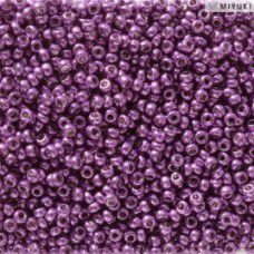 Duracoat Galvanised Purple Orchid Miyuki 11/0 Seed Beads, Colour 5108, 22g appro...