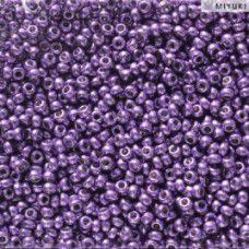 Duracoat Galvanised Dark Lilac Miyuki 11/0 Seed Beads, Colour 5109, 22g approx.