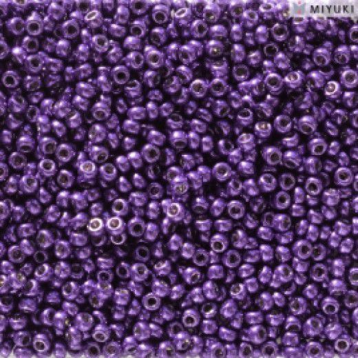 Duracoat Galvanised Lilac Night Miyuki 11/0 Seed Beads, Colour 5110, 100g Wholesale pack