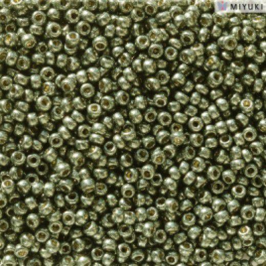 Duracoat Galvanised Dark Steel Green Miyuki 11/0 Seed Beads, Colour 5112, 100g Wholesale pack