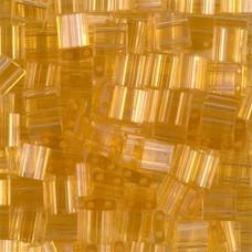 Tila Beads Light Amber Transparent 5.2gm pack - 0132