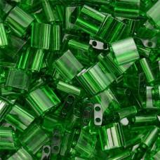 Tila Beads Emerald Transparent 5.2gm pack - 0146