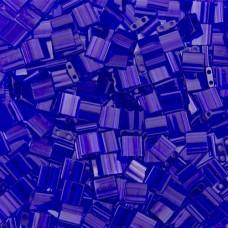 Bulk Bag Tila Beads Ocean Blue Transparent 50 Grams - 0151