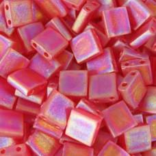 Light Amethyst Transparent, colour 140FR Miyuki Tila Bead, 50g bag