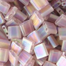 Light Amethyst Tr. Matte AB Colour 0142FR Miyuki Tila Bead 50g bag
