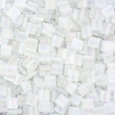 Tila Beads Crystal Transparent AB Matte 5.2gm pack - 0131FR