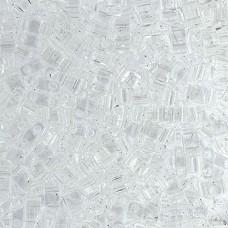 Tila Beads Crystal Transparent 5.2gm pack - 0131