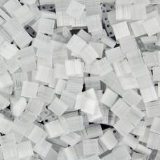 Tila Beads White Transparent 5.2gm pack - 0037