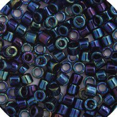 Blue Iris  10/0 Cut Delica Colour Code -2,  5.2gm approx.