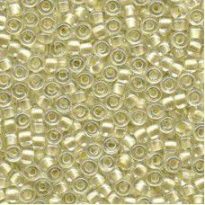 Pearlized Cream inside dyed Miyuki 6/0 Seed Beads, 20g approx. approx. colour 46...