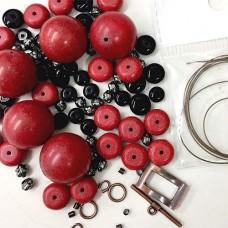 Red Semi Precious Stone Kit