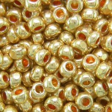 13/0 Charlottes, Gold Coating, approx. 12g
