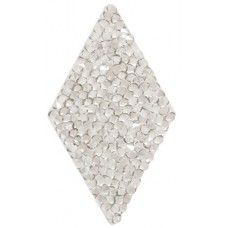Swarovski Crystal Rock Diamond 44.5mm Silvershade Crystal