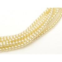 Light Cream, Pack of 150, 3mm Glass Pearls
