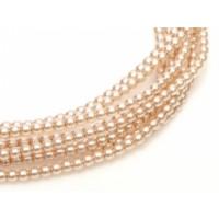 Desert Sand ,Pack of 150 Beads,  3mm Glass Pearls