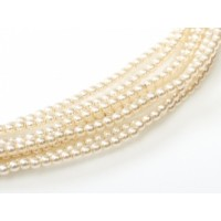 Faint Rose,Pack of 150 Beads,  3mm Glass Pearls