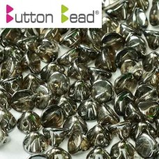 Bulk Bag Crystal Vacuum Hematite Full 4mm Button beads - pack of 300