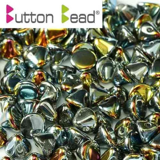 Ful Marea Crystal 4mm Button beads - pack of 50