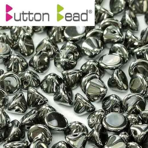 Bulk Bag Crystal Full Chrome 4mm Button beads - pack of 300
