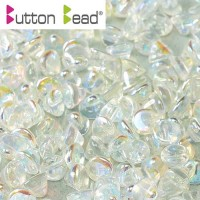 Bulk Bag Crystal AB Full 4mm Button beads - pack of 300