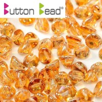 Bulk Bag Crystal Apricot Medium 4mm Button beads - pack of 300