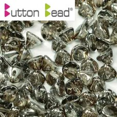 Bulk Bag Crystal Chrome 4mm Button beads - pack of 300