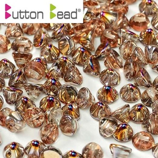 Bulk Bag Crystal Sliperit 4mm Button beads - pack of 300