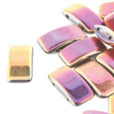 Sliperit Czech Glass Carrier Bead, 9 x 17mm Pack of 15