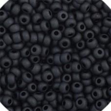 Black Matte Opaque, Size 8/0, 22g
