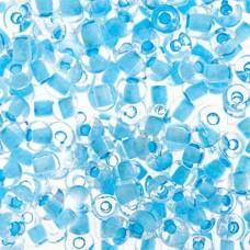 Crystal/Light Blue Terra 2-077 Size 2/0, 22g approx.