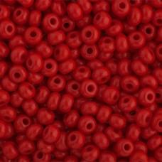 Opaque Medium Red, Size 6/0, 22g