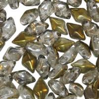 Crystal Bronze Capri Diamonduo Beads, Pack of 34