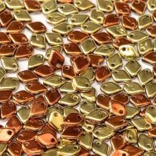 Bulk Bag Crystal California Gold Rush Dragonscale Beads, 50gm