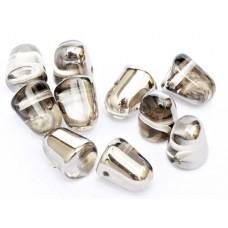 Bulk Bag Crystal Chrome Gumdrops, 50pcs