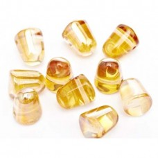 Bulk Bag Crystal Apricot Medium Gumdrops, 50pcs