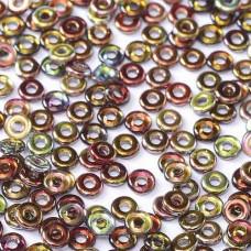 Bulk Bag Crystal Magic Wine O-Beads 1 x 3.8mm, 50gm