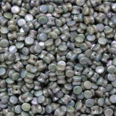 Bulk Bag Pellet Chalk White Blue, 4x6mm, 600 pieces