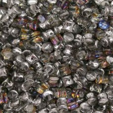 Pellet Beads Crystal Volcano  4x6mm 50 pieces