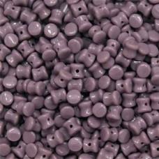 Bulk Bag Pellet Beads, Opaque Violet, 4x6mm, 600 pieces