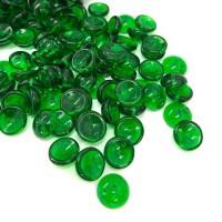 Green Piggy Beads - Pack of 30