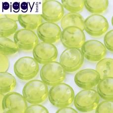 Peridot Piggy Beads 3 x 8mm - Pack of 30