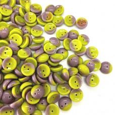 Ripe Fig Piggy Beads 4 x 8mm - Pack of 30