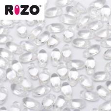 Bulk Bag Crystal Rizo Beads approx. 100gm