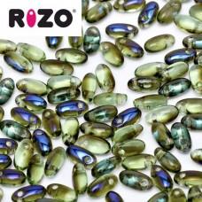 Peridot Azuro Rizo Beads approx. 20gm