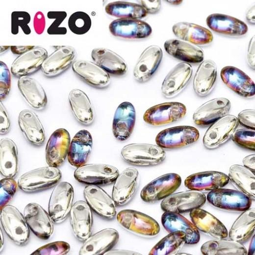 Bulk Bag Crystal Volcano Rizo Beads approx. 100gm