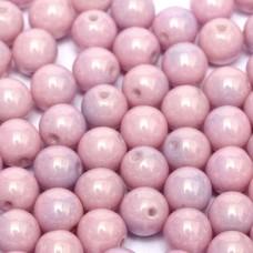 Lila Vega Luster 6mm Beads, 20 Pcs