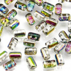 Bulk Bag Rulla Beads Crystal Vitrial 3x5mm 100g approx.