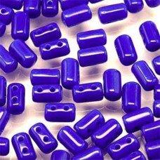 Rulla Beads Opaque Blue 3x5mm 17g approx.